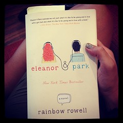 I think my heart is about to explode. #reading #eleanor&park #yabooks