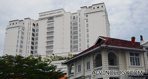 Staying at the Eastern & Oriental Hotel in Penang, Malaysia  - Alvinology