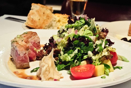 Ahi Tuna and Salad