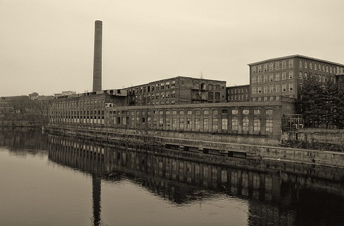 old mill industrial decay massachusetts derelict hdr lowell merrimackriver