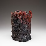 Christopher Meyer; Eastern Red Cedar Las Vegas NM; Cast Iron; 10x9x8; 2015 - FIRED: Iron September 17 - November 15, 2015