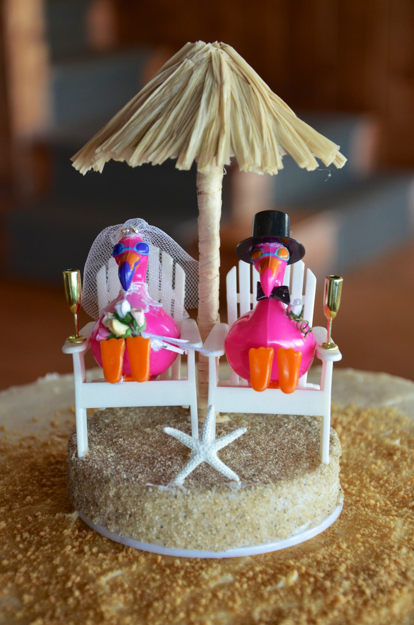 Flamingo Cake Topper Uk