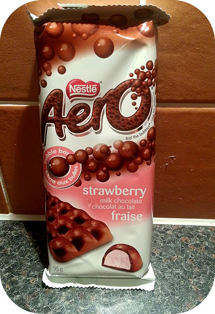 Nestle Aero Strawberry
