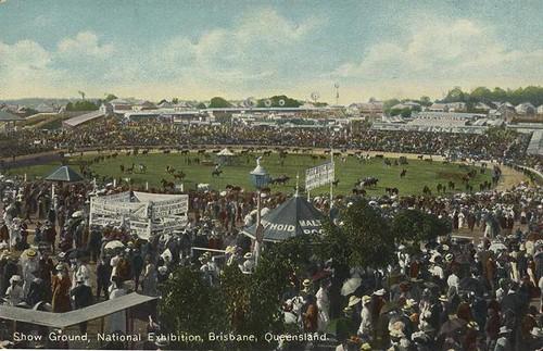 Show Ground, National Exhibition, Brisbane, Australia - circa 1910