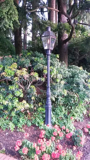 Gas streetlamp