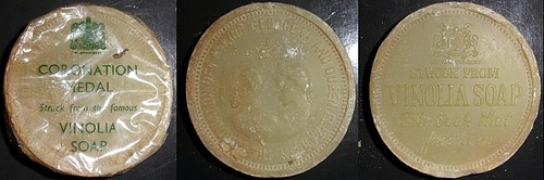 1937-2 George VI, Coronation soap medal