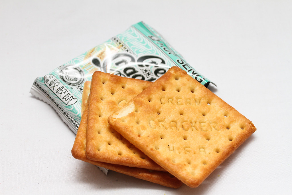 50 Childhood Snacks Singaporeans Love: Cream Crackers
