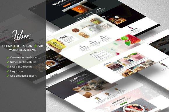 Liber v1.0 - Restaurant/Bar WordPress Theme