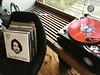This morning: enjoying spoils from last night while cooking breakfast #hantzhouse #vinyl @matthewloganvasquez