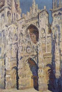 La Catedral de Rouen, pintada por Monet.