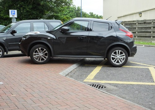 This parking is a Juke
