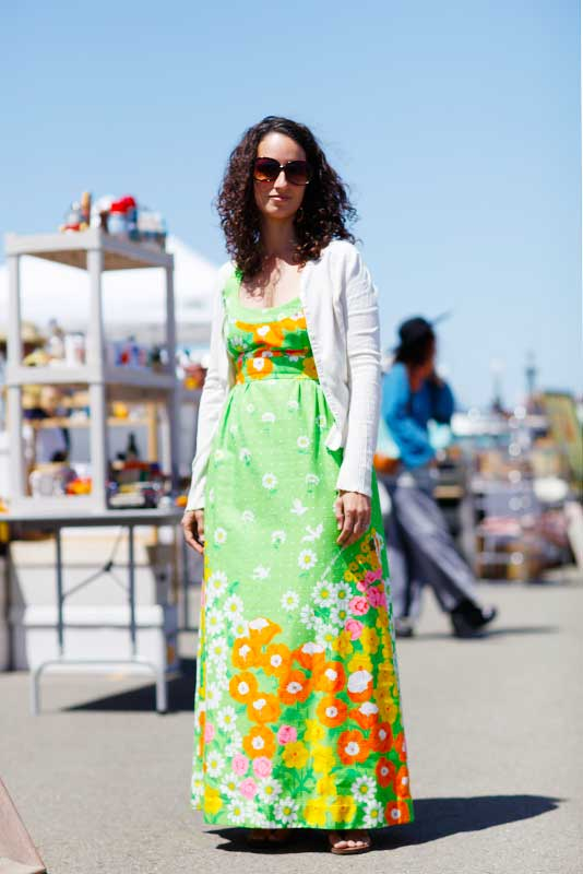 shelly_flea street style, street fashion, women, Quick Shots, Alameda Flea Market