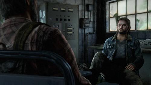 Joel sit down