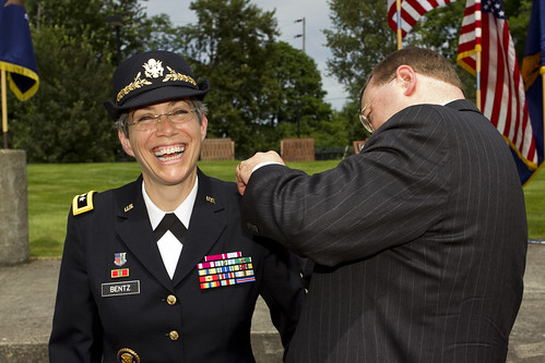 Maj. Gen. Bentz promotion by oregonmildep
