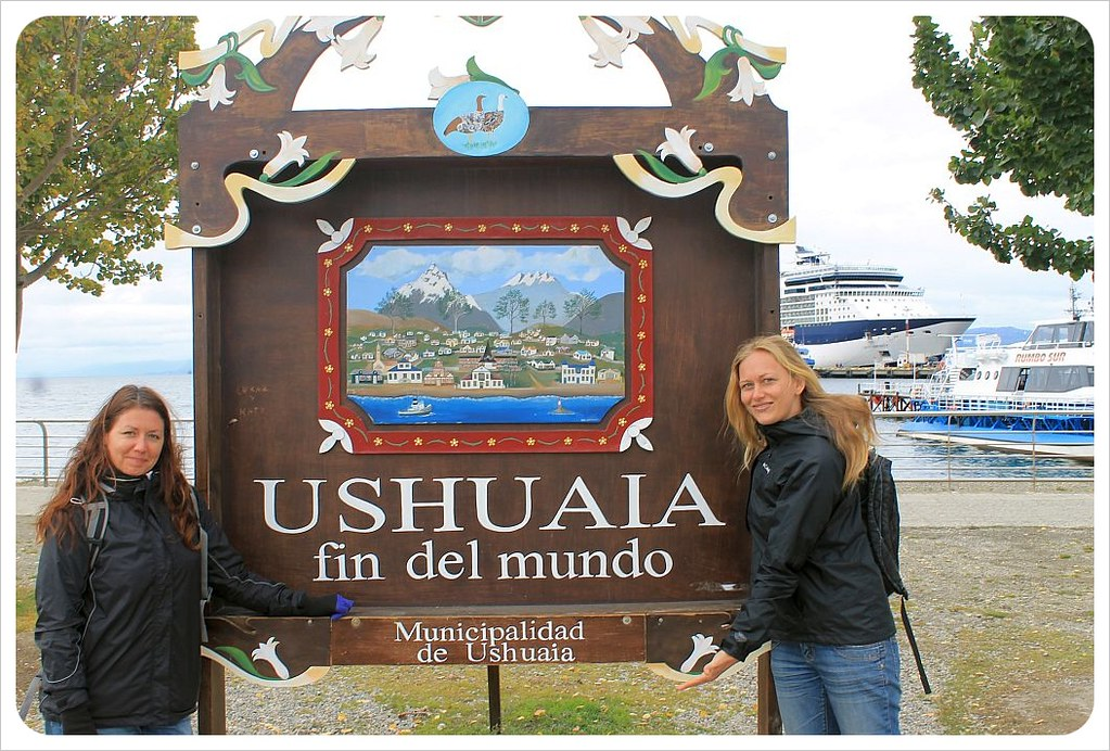 dani and jess in ushuaia