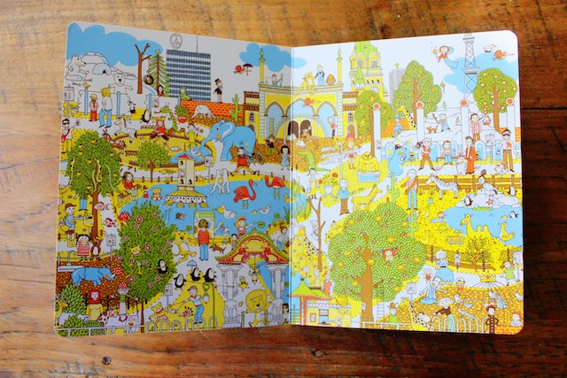 Berlin by Judith Drews -inside page
