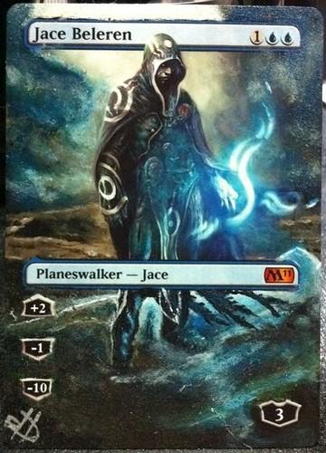 Jace Beleren Altered Art Magic the Gathering Altered Art MTG Card artwork