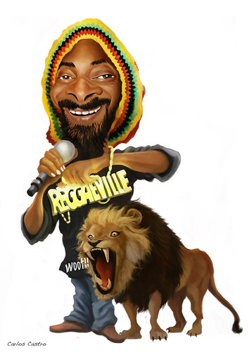 Snoop Lion by Carlos Castro Pérez