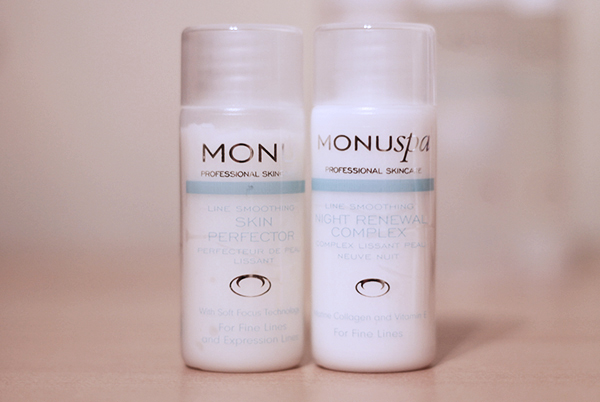 Monu Spa Skin Perfector and Night Renewal Complex