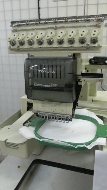 toyota 830 embroidery machine