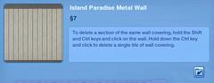 Island Paradise Metal Wall 3