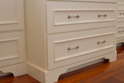 Creamy white and stainless reveal - Kitchen cabinet toe kick options ...