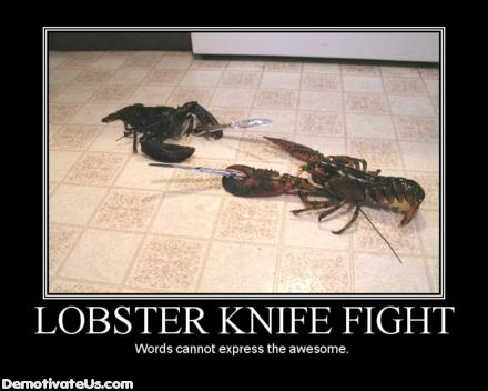 lobster-knife-fight-demotivational-poster