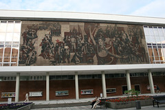 Sozialistisches Mosaik - Philharmonie Dresden