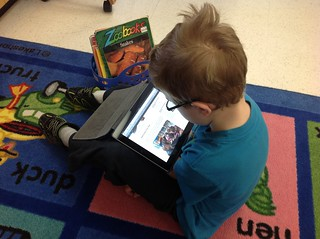Reading on an iPad