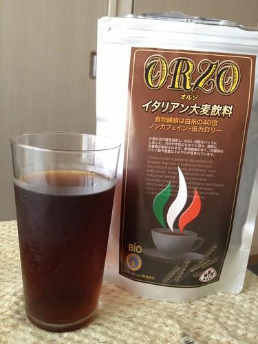 水だしで作ってみた@トレモリ イタリア産ノンカフェイン コーヒー風有機大麦飲料