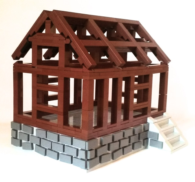 Lego Medieval House moc] medieval house for rookies - lego historic themes