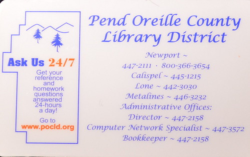 Pend Oreille County Library District