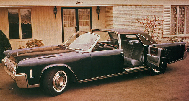 1964 lincoln continental town brougham concept car flickr photo sharing. Black Bedroom Furniture Sets. Home Design Ideas