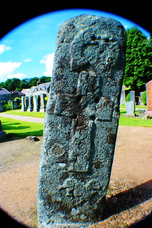 Pictish Carved Stone at Mortlach, Scottish Highlands