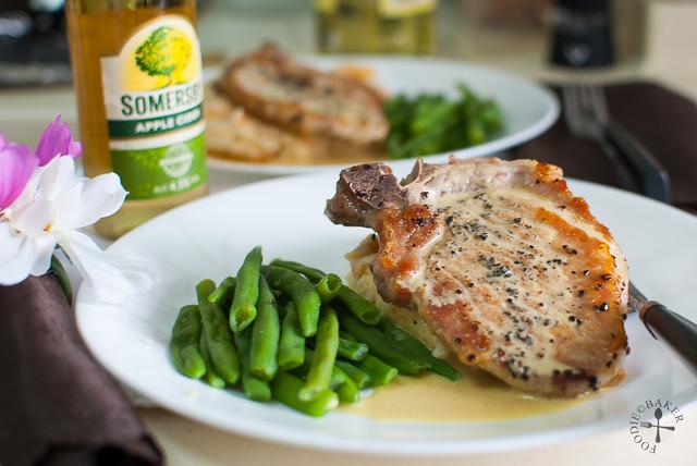 Nigella's Mustard Pork Chops