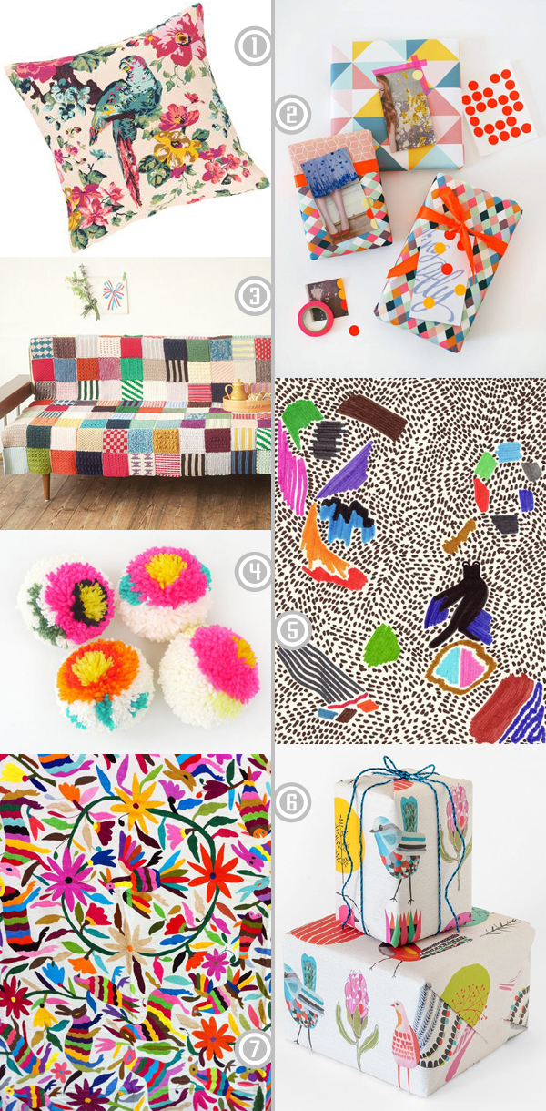 A few fabulous clashy bright pins I've been adding to my Pinterest boards recently, aren't they gorgeous!? | Emma Lamb