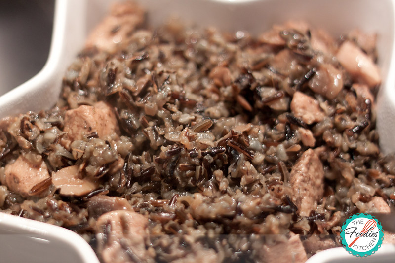 Wild Rice with Chicken and Mushrooms