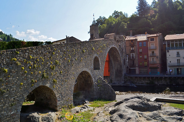 Pont Nou, Camprodon, Pyrenees, Catalonia