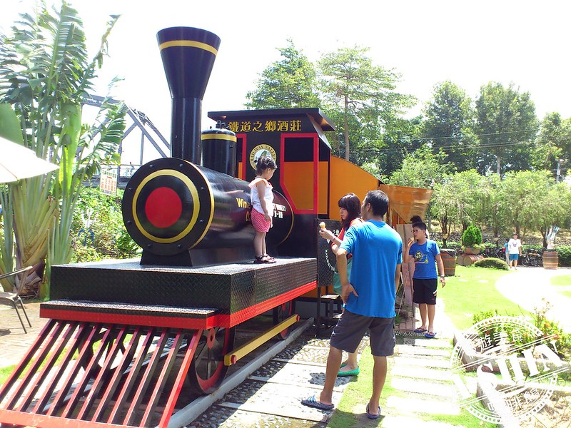 第一酒廠-鐵道之鄉酒莊:火車頭