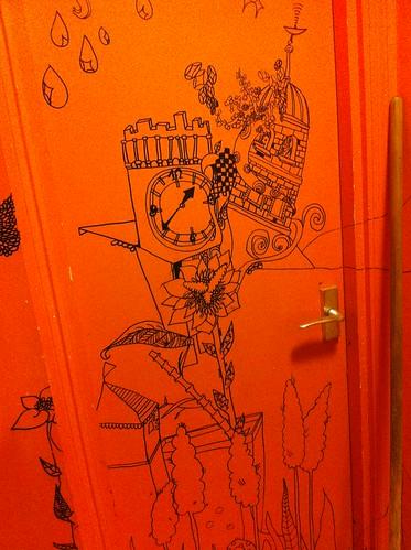 IMG_6078_loo_doodles at Bibimbab Cafe