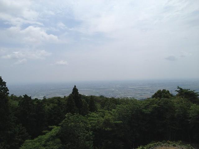 南宮山 展望台