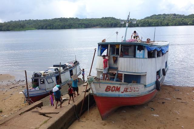 Porto de embarque de Oiapoque