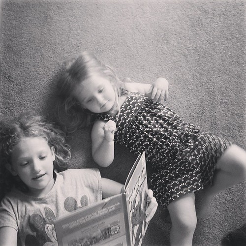 They're reading Spider-Man. #LookForTheLovely