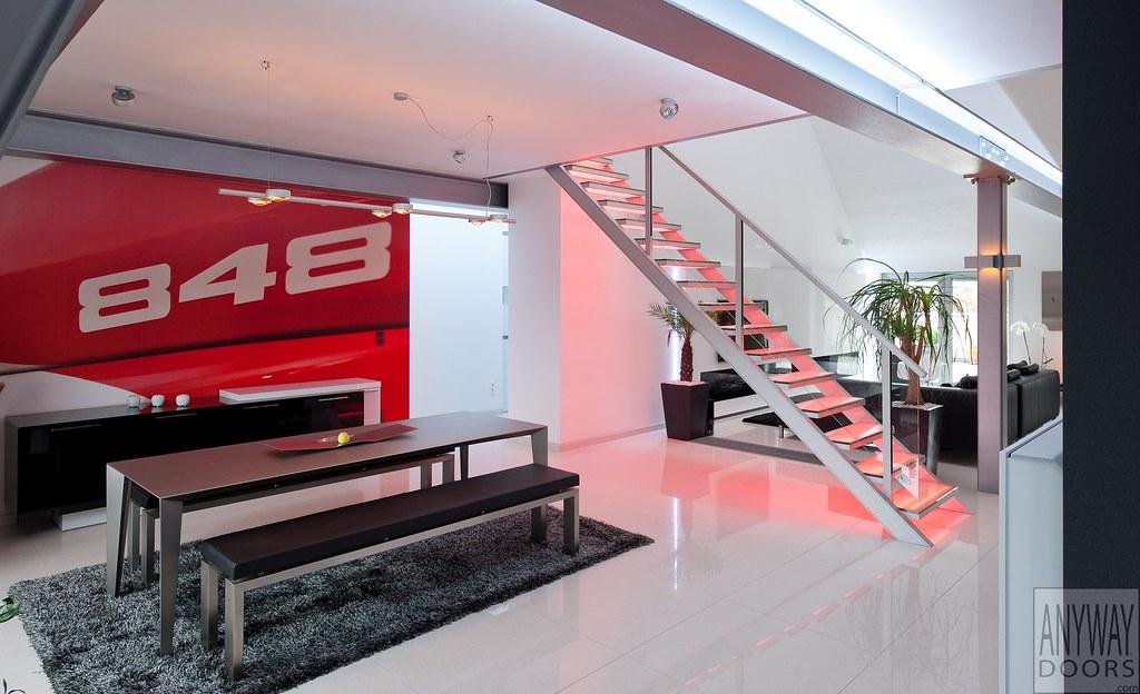 Moderne trappen antwerpen aluminium design trap met glazu flickr
