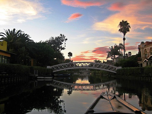 Venice Canals: Picture by Janine Autolitano