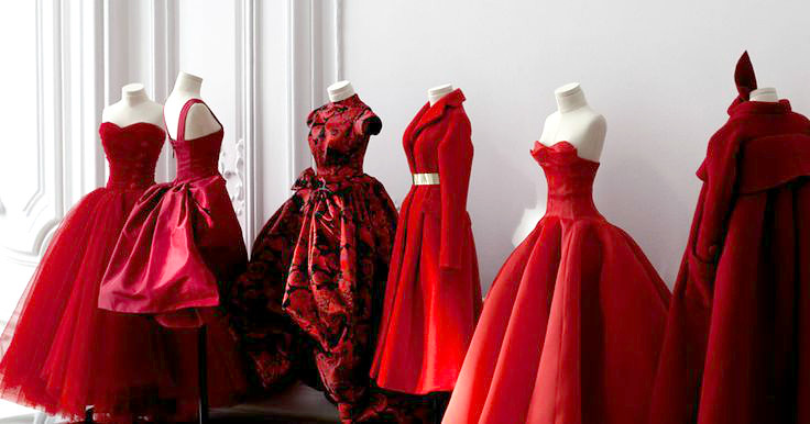 Red Dresses Dior Facebook Timeline Cover