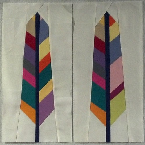 #simplysolids feather blocks. A little late, due to sent fabric shortage. The different lots don't look too different.