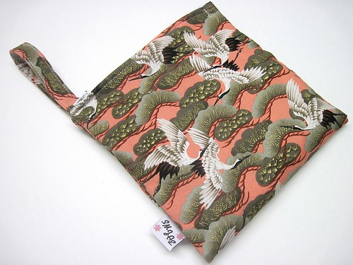 Asian Cranes Mama Wet Bag New Style