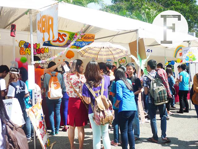 FTU's Day 2013: Tưng bừng gian hàng ngày hội