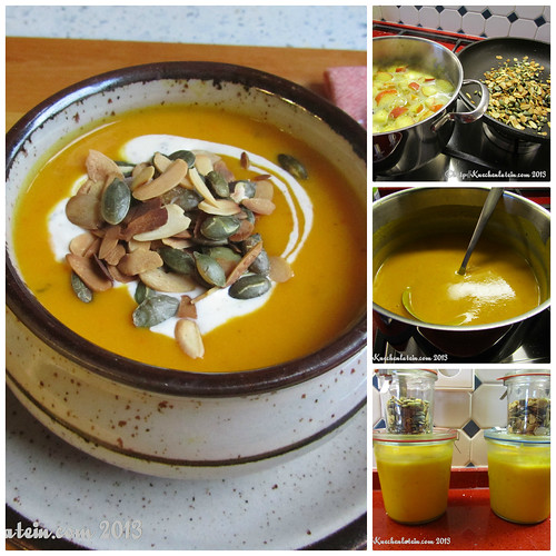 Kuerbiscremesuppe-Collage #dveg